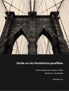 Guide sur les fondations parallèles