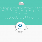 Donor engagement of women in Canada
