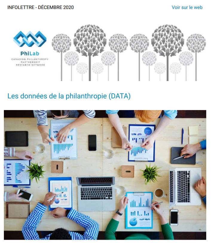 les données de la philanthropie