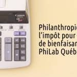 Philanthropie etloi de l'impôt