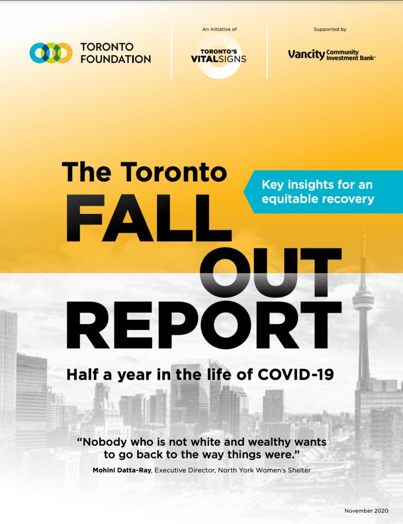 Toronto Fallout Report