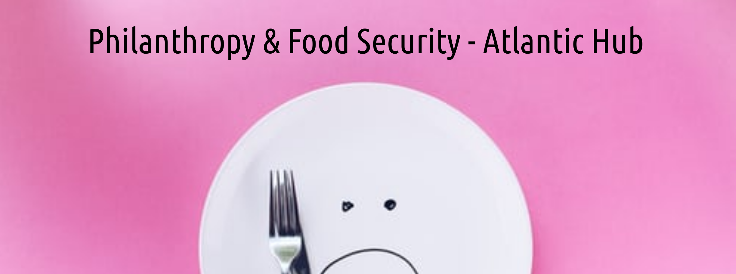 Philanthropy and Food Security