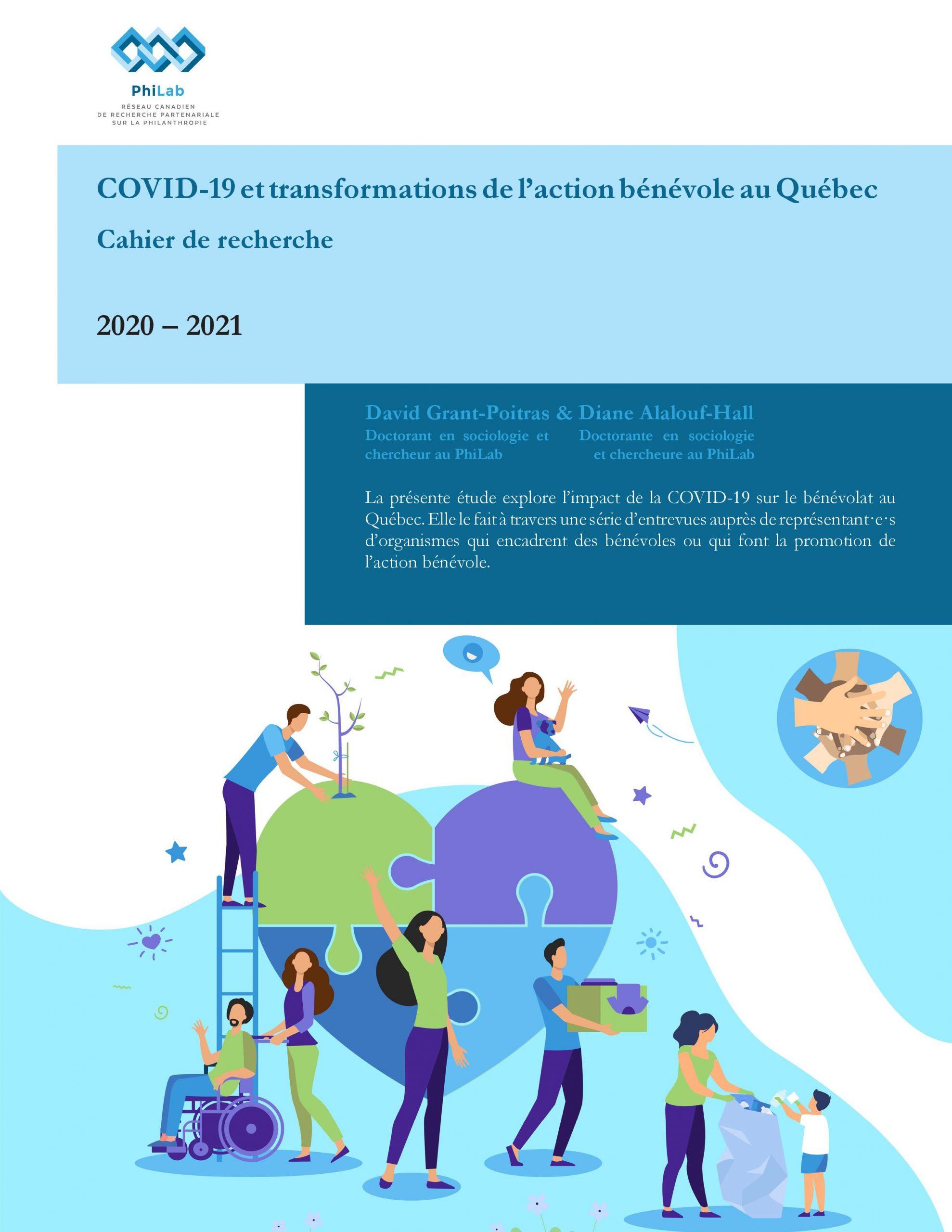 COVID-19 et transformations de l'action bénévole au Québec