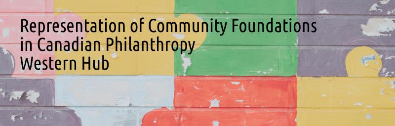 Community Foundations in Canadian Philanthropy