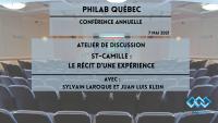 Sylvain Laroque et Juan Luis Klein - St-Camille: Le récit d'une expérience